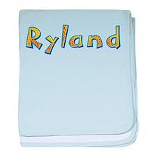 Ryland Giraffe baby blanket