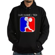 Custom Weightlifting League Logo Hoody