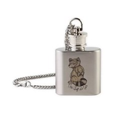 Jig is Up Flask Necklace