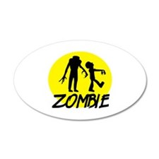 Zombie moon Wall Decal