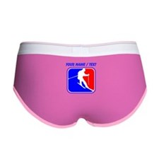 Custom Skiing League Logo Women's Boy Brief