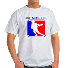 Custom Lacrosse League Logo T-Shirt