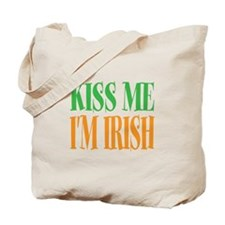 Kiss me im Irish St Patricks Day Tote Bag