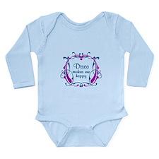 Disco Happiness Long Sleeve Infant Bodysuit