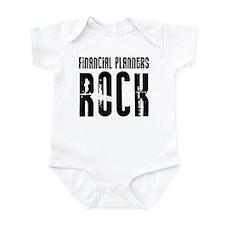 Financial Planners Rock Infant Bodysuit