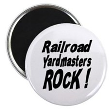 Railroad Yardmasters Rock ! Magnet