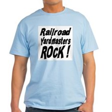Railroad Yardmasters Rock ! T-Shirt