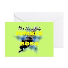 Tumble Lika A Boss Cheer Greeting Cards (Pk Of 20)
