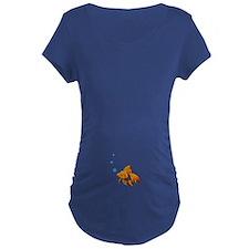goldfish Maternity T-Shirt