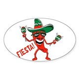 Fiesta Oval Decal