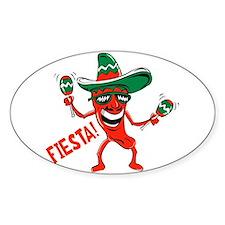 Fiesta Oval Decal