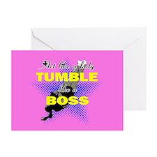Tumble Lika A Boss Cheer Greeting Cards (Pk Of 10)