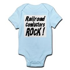 Railroad Conductors Rock ! Onesie