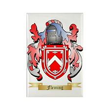 Fleming 2 Rectangle Magnet