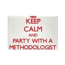Keep Calm and Party With a Methodologist Magnets