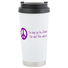 Funny Hippie Travel Mug