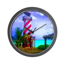 """High Rock Lighthouse"" Wall Clock"