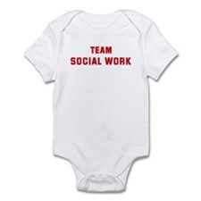 Team SOCIAL WORK Infant Bodysuit