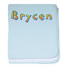 Brycen Giraffe baby blanket