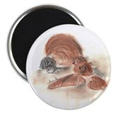 "2.25"" Shell Magnet (100 pack)"