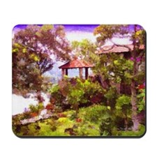 """Gazebo in Santiago"" Mousepad"