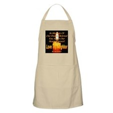 In Memory Of Our Dearly Belov BBQ Apron