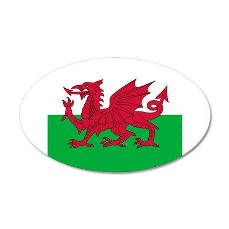 Flag of Wales Wall Sticker