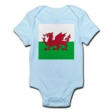 Flag of Wales Body Suit