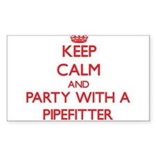 Keep Calm and Party With a Pipefitter Decal