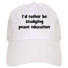 Study peace education Baseball Cap