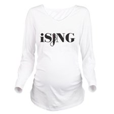 iSING Microphone Performer Long Sleeve Maternity T