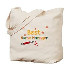 Best Nurse Manager Tote Bag