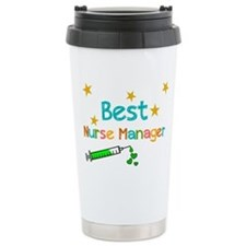 Best Nurse Manager 2 Travel Mug