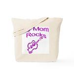 My Mom Rocks Tote Bag