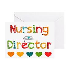 nursing director Greeting Cards