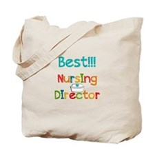 Best Nursing Director Tote Bag