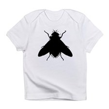 Housefly Silhouette Infant T-Shirt