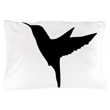 Hummingbird Silhouette Pillow Case
