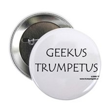 "Geekus Trumpetus - 2.25"" Button (10 pack)"