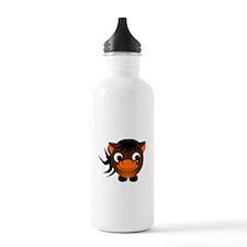 Cartoon Horse Sports Water Bottle