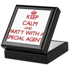 Keep Calm and Party With a Special Agent Keepsake