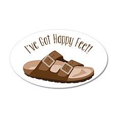 Ive Got Happy Feet! Wall Decal