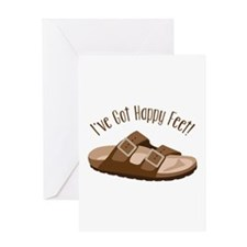 Ive Got Happy Feet! Greeting Cards