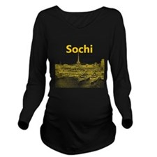 Sochi Long Sleeve Maternity T-Shirt