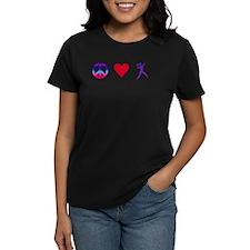 Peace Love Shot Pu T-Shirt