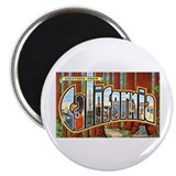 "California Greetings 2.25"" Magnet (10 pack)"