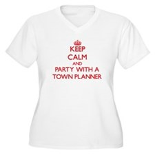 Keep Calm and Party With a Town Planner Plus Size