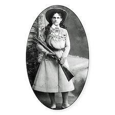 Vintage Photo of Annie Oakley Stickers