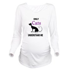 CATS Long Sleeve Maternity T-Shirt