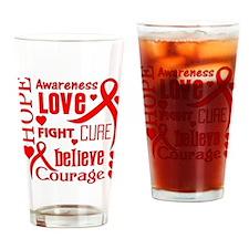 Epidermolysis Bullosa Hope Words Drinking Glass